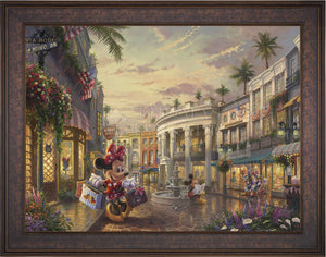 Minnie Rocks the Dots on Rodeo Drive - Limited Edition Canvas (SN - Standard Numbered) - ArtOfEntertainment.com