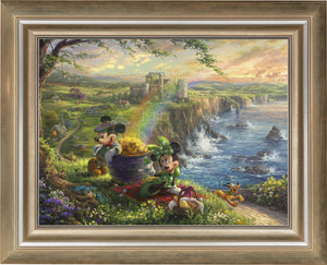 Mickey and Minnie in Ireland - Limited Edition Canvas (SN - Standard Numbered) - ArtOfEntertainment.com
