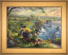Load image into Gallery viewer, Mickey and Minnie in Ireland - Limited Edition Canvas (SN - Standard Numbered) - ArtOfEntertainment.com