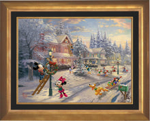Load image into Gallery viewer, Mickey's Victorian Christmas - Limited Edition Canvas (SN - Standard Numbered) - ArtOfEntertainment.com