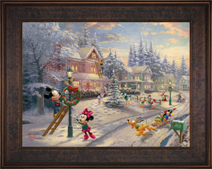 Mickey's Victorian Christmas - Limited Edition Canvas (SN - Standard Numbered) - ArtOfEntertainment.com