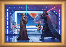 Load image into Gallery viewer, Obi-Wan's Final Battle - Limited Edition Canvas (SN - Standard Numbered) - ArtOfEntertainment.com