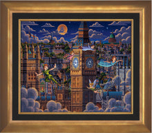 Load image into Gallery viewer, Peter Pan Learning to Fly - Limited Edition Canvas (SN - Standard Numbered)