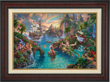 Load image into Gallery viewer, Peter Pan's Never Land - Limited Edition Canvas (JE - Jewel Edition) - ArtOfEntertainment.com