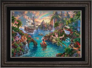 Peter Pan's Never Land - Limited Edition Canvas (SN - Standard Numbered) - ArtOfEntertainment.com