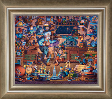 Pinocchio - Limited Edition Canvas (SN - Standard Numbered) - ArtOfEntertainment.com