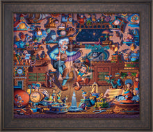 Load image into Gallery viewer, Pinocchio - Limited Edition Canvas (SN - Standard Numbered) - ArtOfEntertainment.com