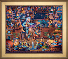 Load image into Gallery viewer, Pinocchio - Limited Edition Canvas (AP - Artist Proof) - ArtOfEntertainment.com