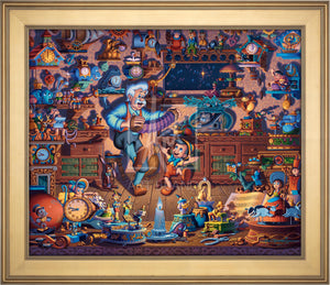 Pinocchio - Limited Edition Canvas (AP - Artist Proof) - ArtOfEntertainment.com