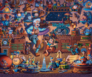 Pinocchio - Limited Edition Canvas - AP - (Unframed)