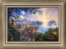 Load image into Gallery viewer, Pinocchio Wishes Upon A Star - Limited Edition Canvas (SN - Standard Numbered) - ArtOfEntertainment.com
