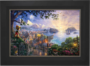 Pinocchio Wishes Upon A Star - Limited Edition Canvas (SN - Standard Numbered) - ArtOfEntertainment.com