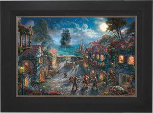 Pirates of the Caribbean - Limited Edition Canvas (JE - Jewel Edition) - ArtOfEntertainment.com