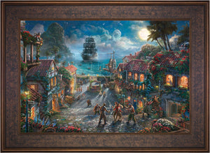 Pirates of the Caribbean - Limited Edition Canvas (SN - Standard Numbered) - ArtOfEntertainment.com