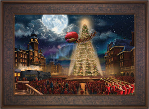 The Polar Express - Limited Edition Canvas (SN - Standard Numbered) - ArtOfEntertainment.com