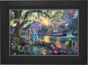 The Princess and the Frog - Limited Edition Canvas (SN - Standard Numbered) - ArtOfEntertainment.com