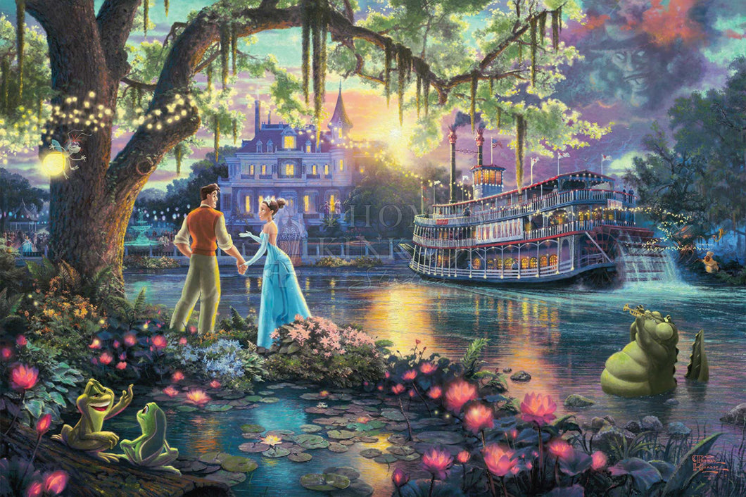 Princess and the Frog, The - Limited Edition Canvas - SN - (Unframed)