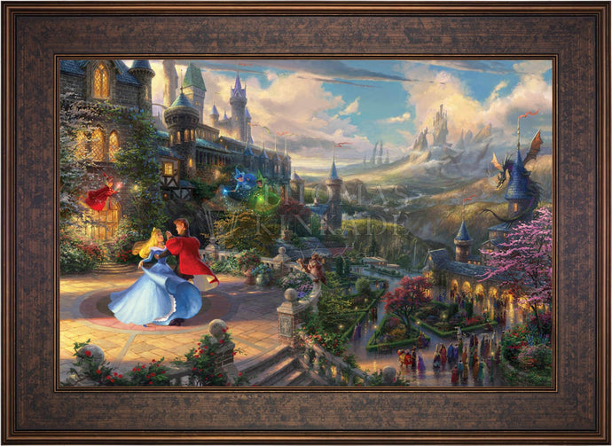 Sleeping Beauty Dancing in the Enchanted Light - Limited Edition Canvas (SN - Standard Numbered) - ArtOfEntertainment.com