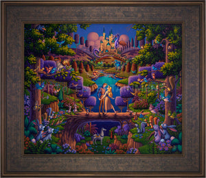 Sleeping Beauty - The Power of Love - Limited Edition Canvas (SN - Standard Numbered) - ArtOfEntertainment.com