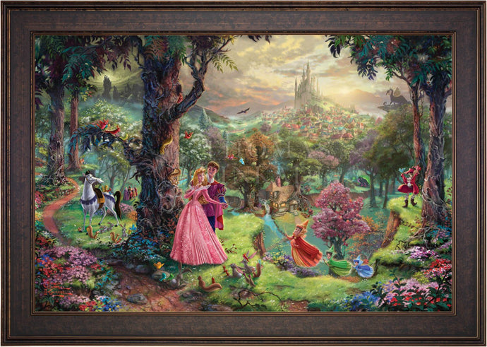 Sleeping Beauty - Limited Edition Canvas (SN - Standard Numbered) - ArtOfEntertainment.com