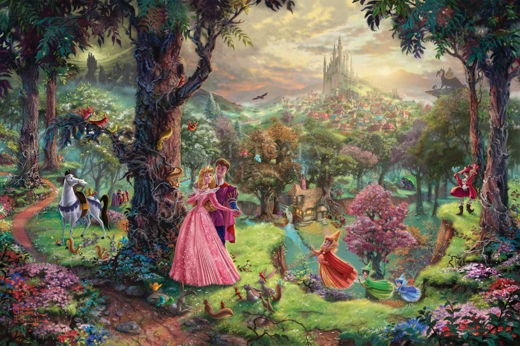 Sleeping Beauty - Limited Edition Canvas - JE - (Unframed)