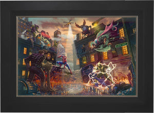 Spider-Man vs. the Sinister Six - Limited Edition Canvas (SN - Standard Numbered) - ArtOfEntertainment.com