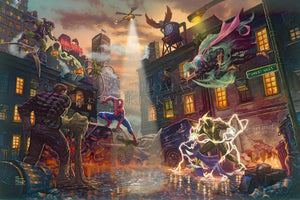 Spider-Man vs. the Sinister Six - Limited Edition Canvas - SN - (Unframed)