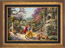 Load image into Gallery viewer, Snow White Dancing in the Sunlight - Limited Edition Canvas (SN - Standard Numbered) - ArtOfEntertainment.com