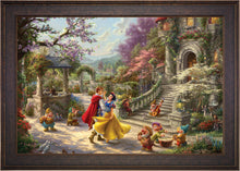 Load image into Gallery viewer, Snow White Dancing in the Sunlight - Limited Edition Canvas (JE - Jewel Edition) - ArtOfEntertainment.com