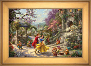 Snow White Dancing in the Sunlight - Limited Edition Canvas (SN - Standard Numbered) - ArtOfEntertainment.com