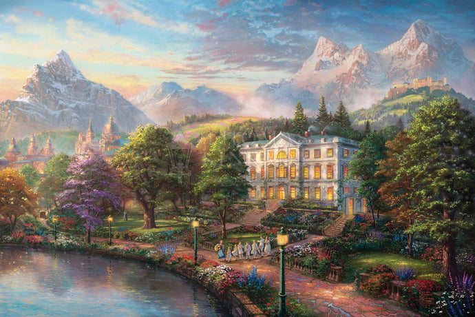 Sound of Music - Limited Edition Canvas - SN - (Unframed)