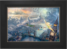 Load image into Gallery viewer, Tinker Bell and Peter Pan Fly to Never Land - Limited Edition Canvas (SN - Standard Numbered) - ArtOfEntertainment.com