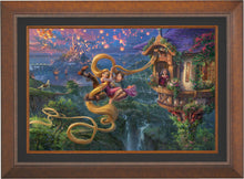 Load image into Gallery viewer, Tangled Up in Love - Limited Edition Canvas (SN - Standard Numbered) - ArtOfEntertainment.com
