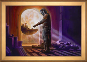 The Mandalorian - Turning Point - Limited Edition Canvas (SN - Standard Numbered) - ArtOfEntertainment.com