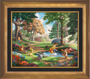 Winnie The Pooh I - Limited Edition Canvas (SN - Standard Numbered) - ArtOfEntertainment.com