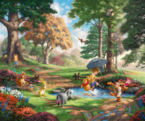 Winnie The Pooh I - Limited Edition Canvas - SN - (Unframed)