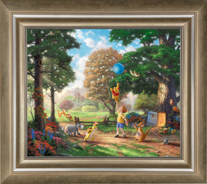 Winnie The Pooh II - Limited Edition Canvas (SN - Standard Numbered) - ArtOfEntertainment.com