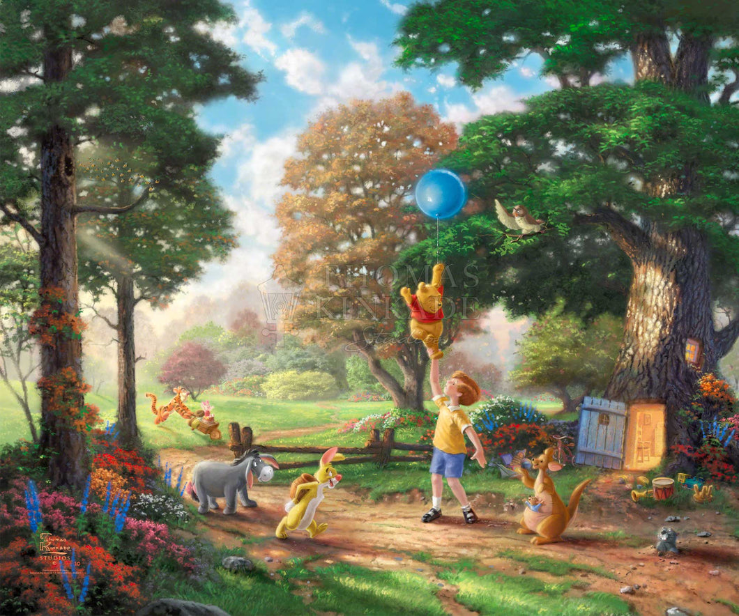 Winnie The Pooh II - Limited Edition Canvas - SN - (Unframed)