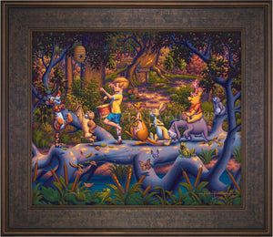 Winnie the Pooh - A Heroes Parade - Limited Edition Canvas (SN - Standard Numbered) - ArtOfEntertainment.com