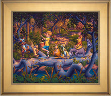 Load image into Gallery viewer, Winnie the Pooh - A Heroes Parade - Limited Edition Canvas (SN - Standard Numbered) - ArtOfEntertainment.com