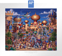 Load image into Gallery viewer, Aladdin - Celebration in Agrabah - Limited Edition Paper (AP - Artist Proof)