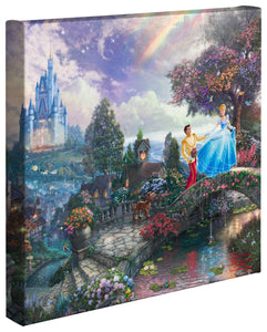 "Cinderella Wishes Upon a Dream - 14"" x 14"" Gallery Wrapped Canvas 52480"