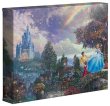 Load image into Gallery viewer, Cinderella Wishes Upon a Dream - Gallery Wrapped Canvas - ArtOfEntertainment.com