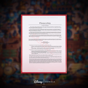 Pinocchio - Limited Edition Canvas (AP - Artist Proof)