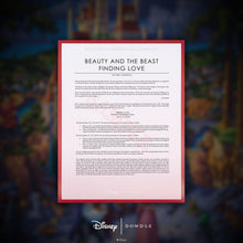 Load image into Gallery viewer, Beauty and the Beast Finding Love - Limited Edition Canvas (AP - Artist Proof)