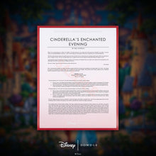 Load image into Gallery viewer, Cinderella's Enchanted Evening - Limited Edition Canvas (AP - Artist Proof)