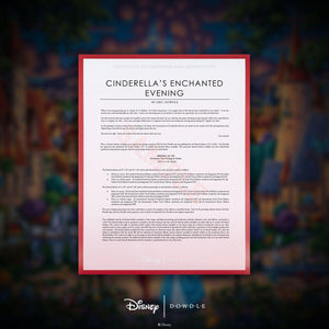 Cinderella's Enchanted Evening - Limited Edition Canvas (AP - Artist Proof)