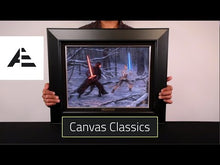 Load and play video in Gallery viewer, Mickey and Minnie - Sweetheart Campfire - Canvas Classics