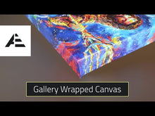 Load and play video in Gallery viewer, Hawkgirl - Gallery Wrapped Canvas
