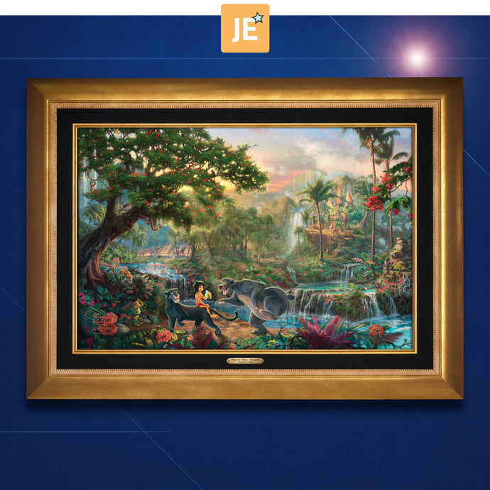 The Jungle Book - Limited Edition Canvas (JE - Jewel Edition) - ArtOfEntertainment.com